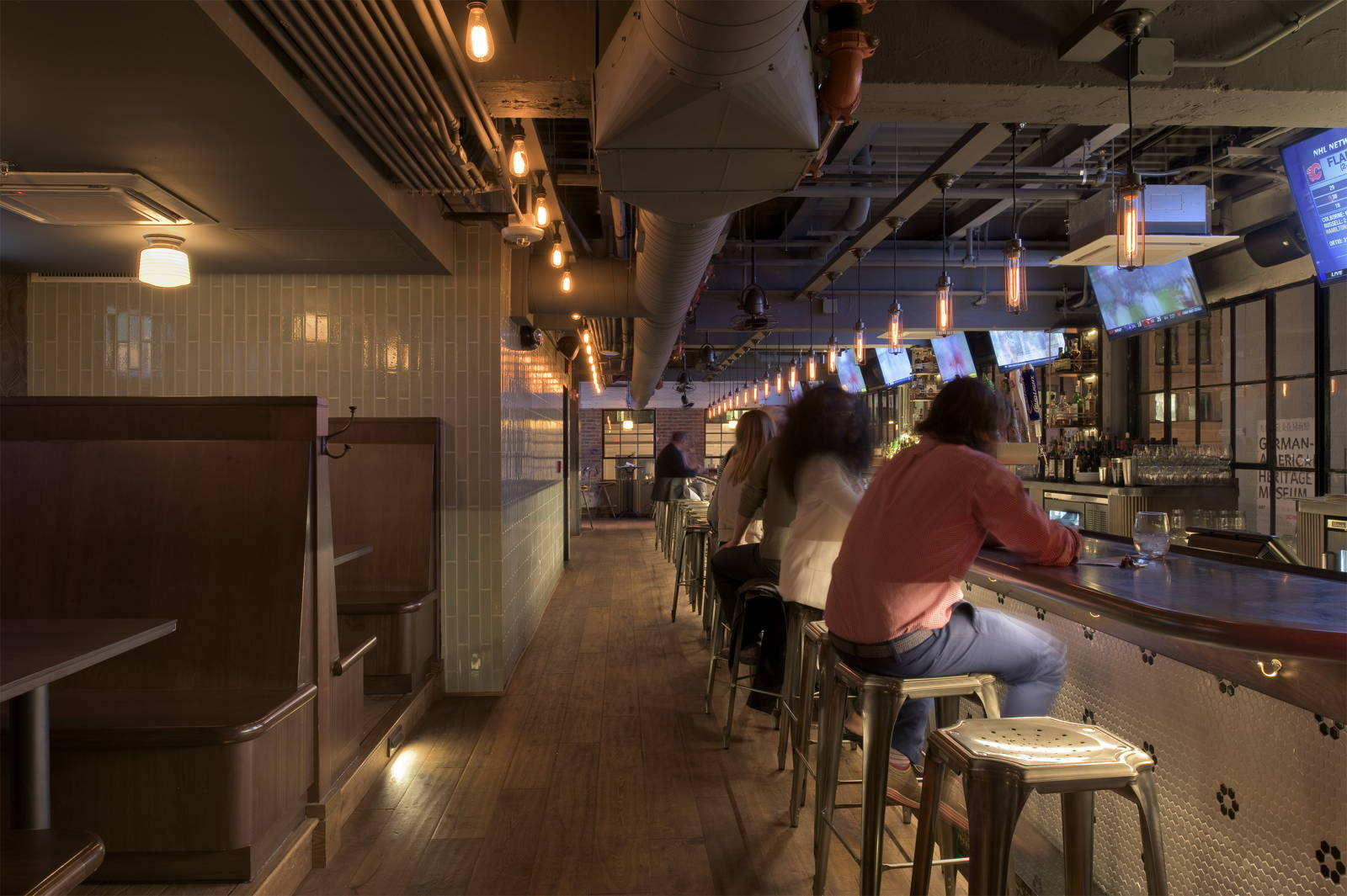 Bar Deco restaurant designed by CORE Architecture + Design
